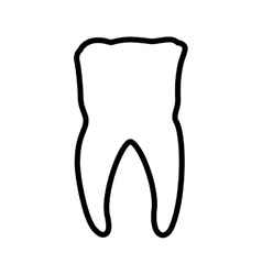 Tooth dental care health hygiene icon vector