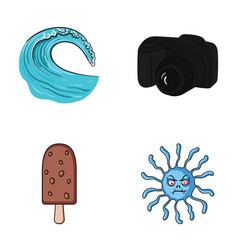 Travel desert and other web icon in cartoon style vector