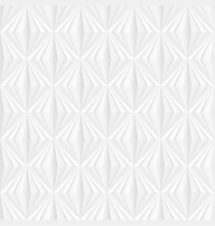 white geometric texture seamless decorative vector image
