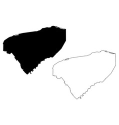 Yucatan map vector
