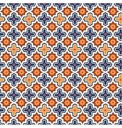 Abstract arabic islamic seamless geometric pattern vector image vector image