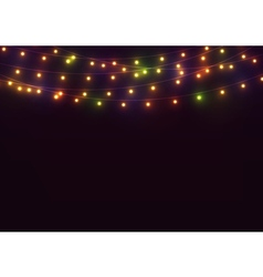 131016 1847 lights background vector image
