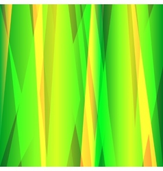 Abstract lines green background vector image vector image