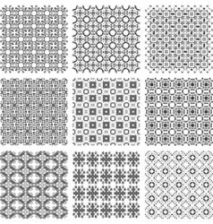 Geometrical patterns vector