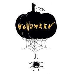 Halloween web vector image