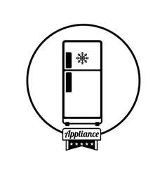 Home appliance icon vector