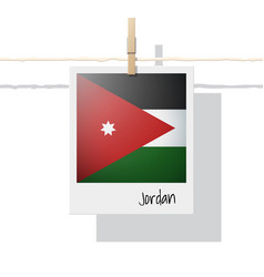 Photo jordan flag vector