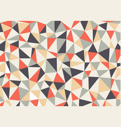polygon triangles background abstract vector image