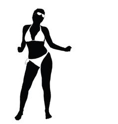 sexy girl in bikini part two vector image