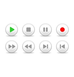 Sound controls vector image