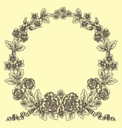 Vintage laurel vector
