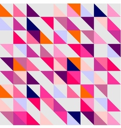 Seamless pink violet orange and white pattern vector image vector image