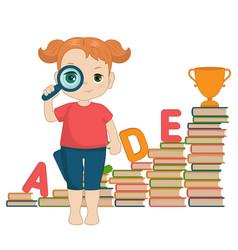 concept of education concept of education vector image