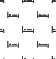 hotel seamless pattern vector image
