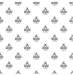knive war pattern seamless vector image