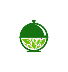 nature food logo icon design vector image