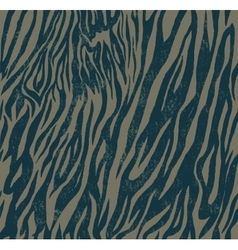 Seamless vintage style pattern with zebra or tiger vector
