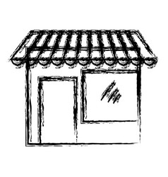 store building icon vector image