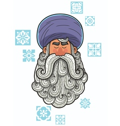 Turban vector