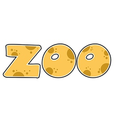 ZOO Text vector