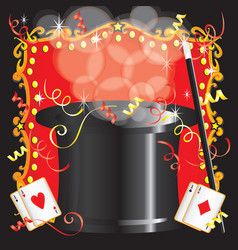 Magic Magician Birthday vector image