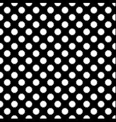 seamless texture abstract floral geometric pattern vector image vector image