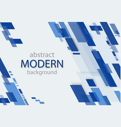 abstract geometric background transparent blue vector image