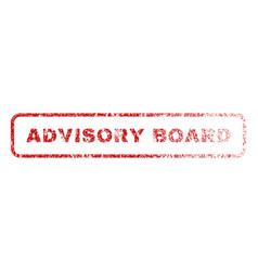 Advisory board rubber stamp vector
