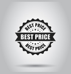 best price sale grunge rubber stamp on white vector image