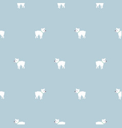 chihuahua dog seamless pattern vector image