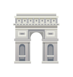 France landmark icon vector