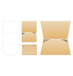 horizon landscape folder vector image