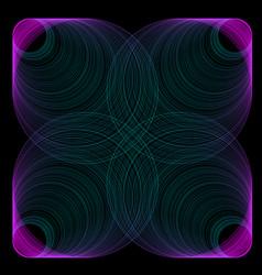Line gradient colorful vector