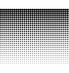 Pattern with blend black dots vector