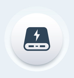 Power bank icon sign vector