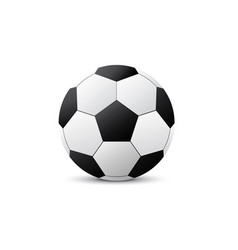 realistic a football world cup isolated set on vector image