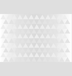 White triangle background vector