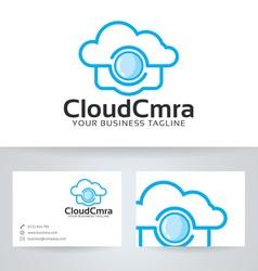 Cloud Camera vector image