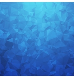 Abstract blue geometric triangular background vector