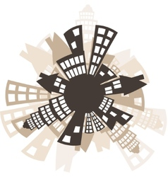 Arhitecture vector image