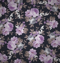 Beautiful Seamless Vintage floral pattern vector image