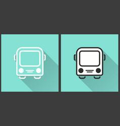 Bus - icon vector