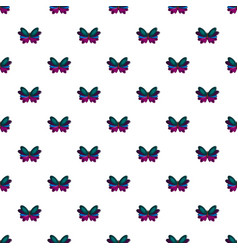 Butterfly demophoon pattern seamless vector