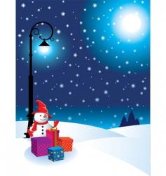 Christmas eve vector