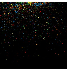 Colorful grainy texture square vector