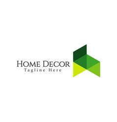 Home decor logo template design vector