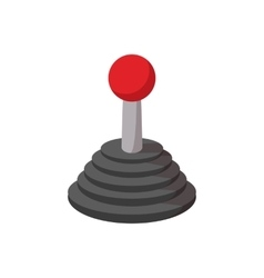 Joystick cartoon icon vector image