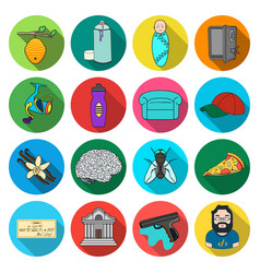 Nature trip competitions and other web icon in vector