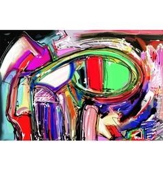 Original of abstract art digital vector