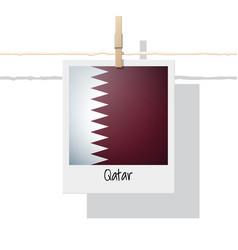 Photo of qatar flag vector